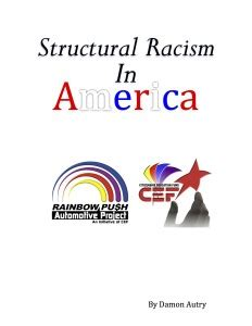 racism and the criminal injustice system